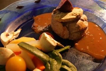 Guy Philipps nous prépare un ballotin de canard aux figues et foie gras