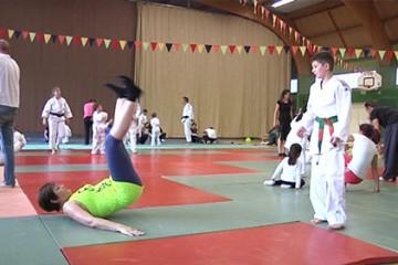 Rencontre de judo intergénérationnelle à Grosbliederstroff