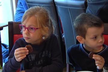 Des élèves de l'Institution Sainte Chrétienne se sont rendu au Petit Thierry pour la semaine du goût