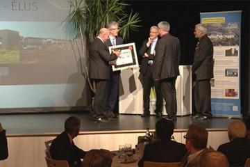 L'entreprise Acbat, lauréate 2014 du prix d'honneur de la CASC.