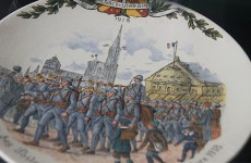 Faïence de Sarreguemines: Les poilus entrent à Strasbourg