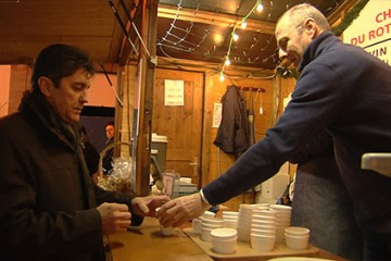 Le Rotary vend des vins chauds