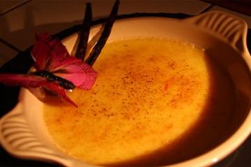 Crème brûlée vanille et safran