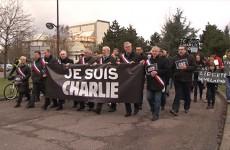 marche symbolique à Saint-Avold
