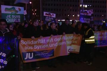 Mouvement Pegida en Allemagne