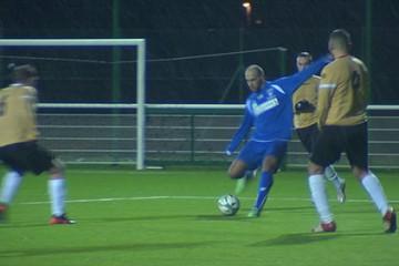 Coupe de Lorraine de football Sarreguemines Fc recevait Merlebach