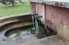 La fontaine St Bernard de Sarralbe