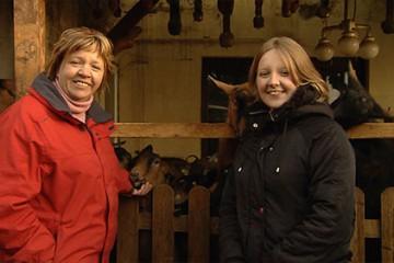 Aurélie Munsch perpétue la tradition familiale en s'occupant de chèvres