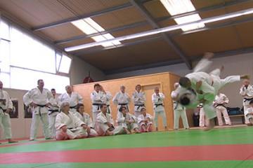 stage organisé par le club de judo de Sarreguemines