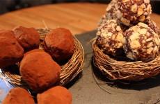 Truffes aux amandes et truffes au thé earl grey