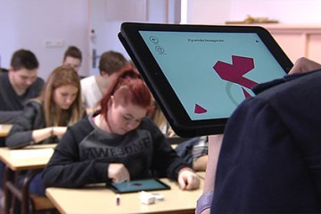 L'Institution Sainte Chrétienne expérimente une nouvelle manière d'étudier avec des tablettes numériques