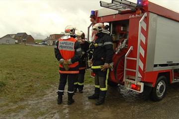 Exercice autour d'une fuite de naphta à Kalhausen