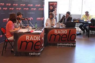 Radio Mélodie s'exporte à la médiathèque pour recevoir Julie Zenatti et Maximilien Philippe