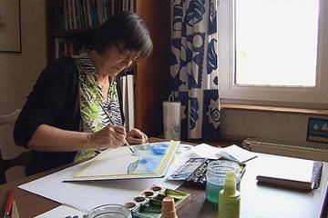 Pour Marie-Anne Heme, l'aquarelle est plus qu'une passion.