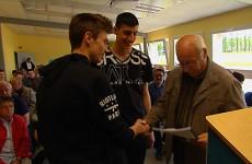 Les élèves du lycée Simon Lazard ont remis leur relevé thermique aux particuliers participant à l'action lancée par la Casc.