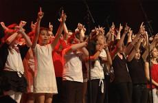 concert choral de 200 élèves issus de six collèges