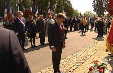 La municipalité rend hommage aux soldats et civils russes morts à Sarreguemines