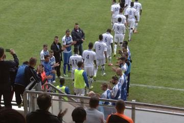 Dernier match de championnat pour le Sarreguemines Football Club qui affrontait la réserve de l'AJ Auxerre