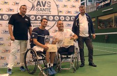 Quelques-uns des meilleurs tennismen handisport mondiaux s'affrontaient à Sarreguemines