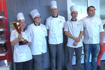 1er challenge Patisfrance-Puratos pour les élèves de bac pro boulangerie-pâtisserie des 5 lycées lorrains