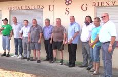 Des joueurs de foot allemands investissent le terrain de Grosbliederstroff