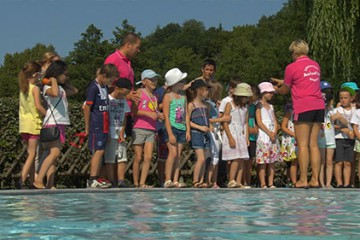 Agglo'lympiades : Apprendre à nager, c'est essentiel, et c'est encouragé par la CASC