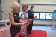 Une nouvelle entreprise vient d'être inaugurée sur l'Eurozone de Forbach Nord