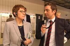 La ministre-présidente du Land de Sarre a visité l'entreprise Hager à Blieskastel où travaillent de nombreux Français