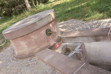 La fontaine d'Eich
