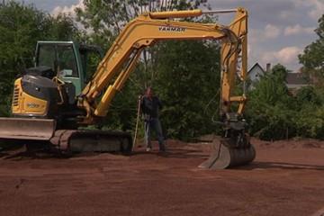 La 4ème tranche de travaux de la zone de loisirs de Grosbliederstroff est en cours