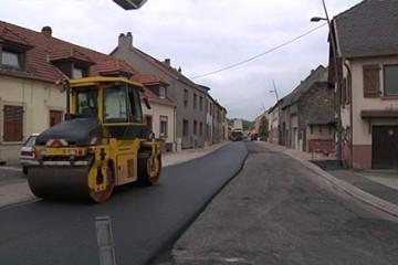 Des travaux d'aménagement qualitatif et sécuritaire s'achèvent dans 3 rues de Grosbliederstroff