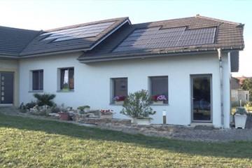 Denis Reb et son fils Marc ont inventé la maison active thermorégulatrice