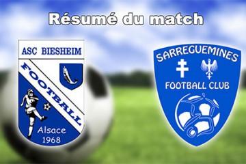 Résumé du match Biesheim - SFC