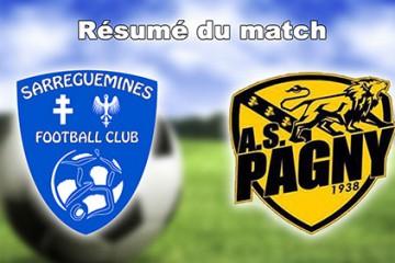 Résume du match SFC - Pagny-sur-Moselle