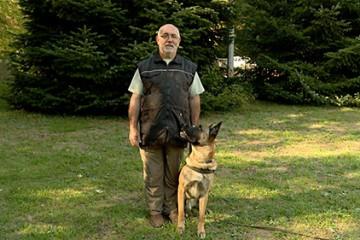 Cela fait 30 ans qu'Edmond Cordary pratique le RCI avec ses chiens et il ne s'en lasse pas