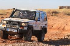Les Raid'ingues du 57 sont actuellement 10ème au classement général du trophée rose des sables !