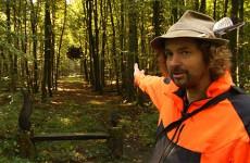 Prenez le temps et regardez, Raimund Herzog enchante la forêt.