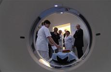 L'Hôpital Robert-Pax est fier de son nouveau scanner.