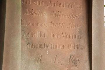 Souvenir de 14 à Heckenransbach