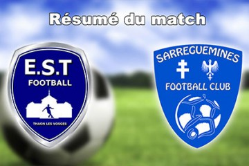 match de foot Es Thaon-SFC