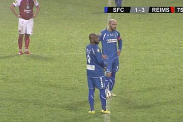 En perdant leur match en supériorité numérique, les joueurs du Sarreguemines Football Club ont mis en colère leur entraîneur