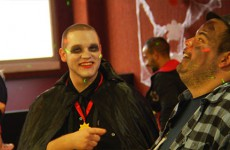 neuf jeunes entre 19 et 26 ans en contrat de qualification à Record Grosbliederstroff organisent une journée spéciale Halloween