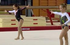 Les petits gymnastes les plus prometteur, licenciés au club de Sarreguemines sont désormais scolarisés au groupe scolaire Maud Fontenoy