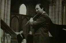 Les flûtistes du conservatoire auraient tout à gagner à suivre la même carrière que Jean-Pierre Rampal dont le parcours leur a été présenté