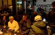 """Le groupe de rock """"ADDICT"""" a animé la soirée du Beaujolais nouveau"""