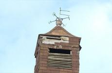 rénovation du clocheton de la mairie de Woelfling-lès-Sarreguemines