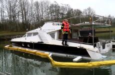 Un bateau a coulé dans la Sarre