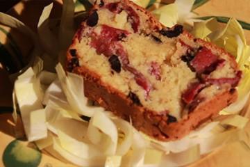 Cake à la mozzarella et Grisonnalbe