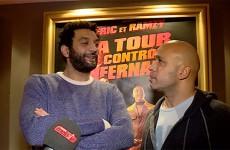 """Eric et Ramzy à SGMS pour l'avant-première de leur film """"La tour 2 Contrôle infernale"""""""