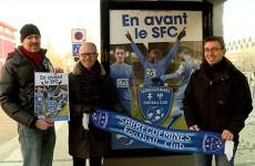 La ville de Sarreguemines affiche son soutien au SFC